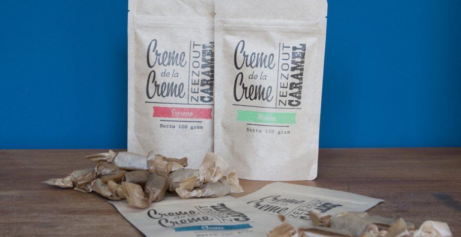 Stempel voor verpakkingen Creme de la Creme