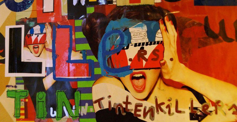 Uitsnede collage van Tintenkillers