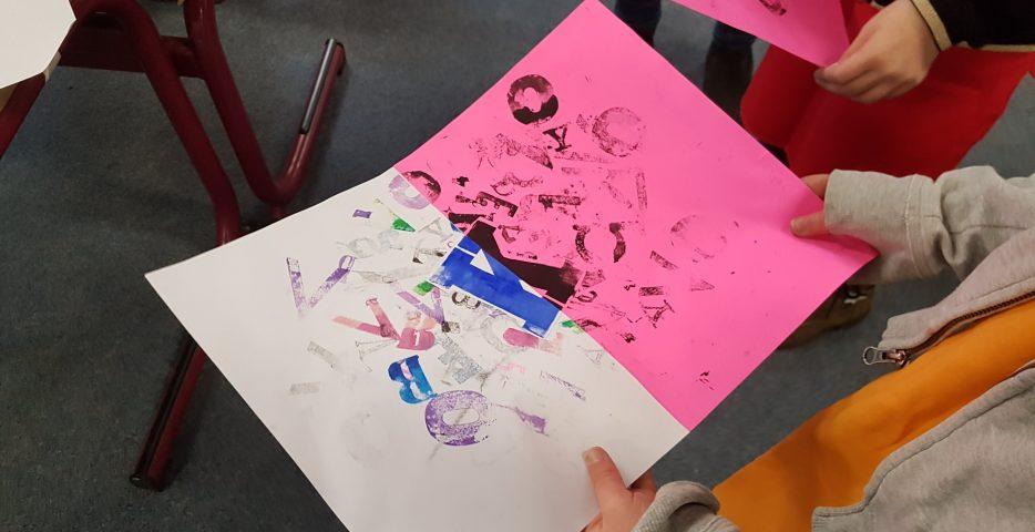 Taal op basisschool met kunst