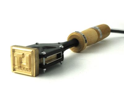 Brandstempel met eigen afbeelding 45x40 mm