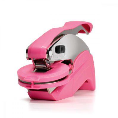 Roze preegtang voor drukken met reliëf 41mm