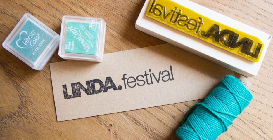 logostempel voor linda festival