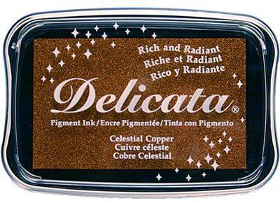 Delicata Metallic stempelinkt Celestial Copper Koper
