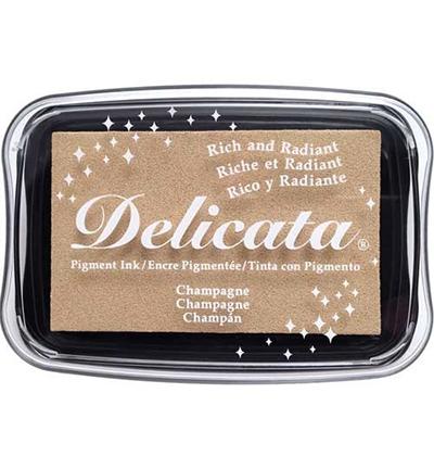 Delicata Metallic stempelinkt Champagne