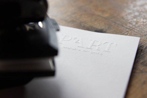 blinddrukstempel logo laten maken
