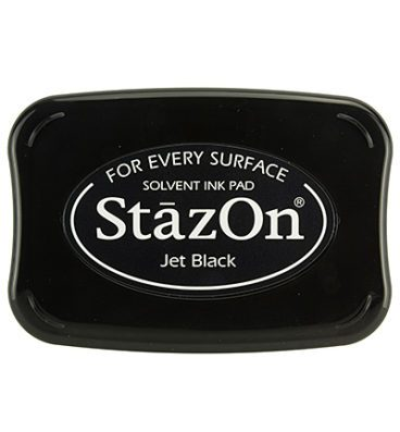 Slazon Jet Black Stempelkussen zwart