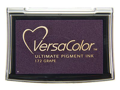 Versacolor Grape paars stempelkussen