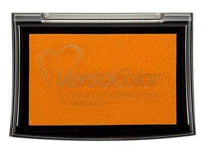 Versacolor Marigold oranje stempelkussen