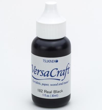 Versacraft real black navelverpakking voor stempelkussens