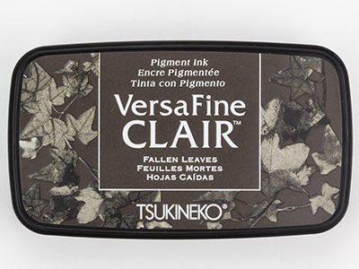Versafine Clair Fallen Leavesstempelinkt grijs bruin