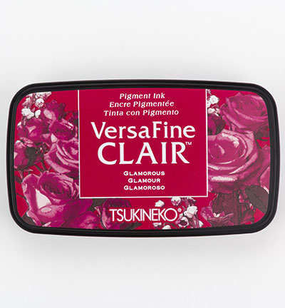 Versafine Clair Glamorous stempelinkt rood