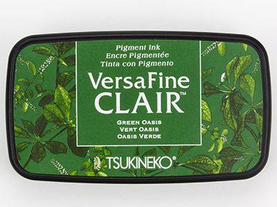Versafine Clair Green Oasis stempelinkt groen
