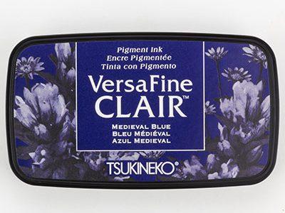 Versafine Clair Mediaval Blue stempelinkt blauw