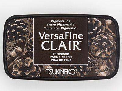 Versafine Clair Pinecone stempelinkt bruin