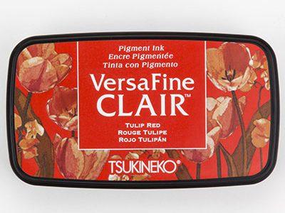 Versafine Clair Tulip Red stempelinkt rood