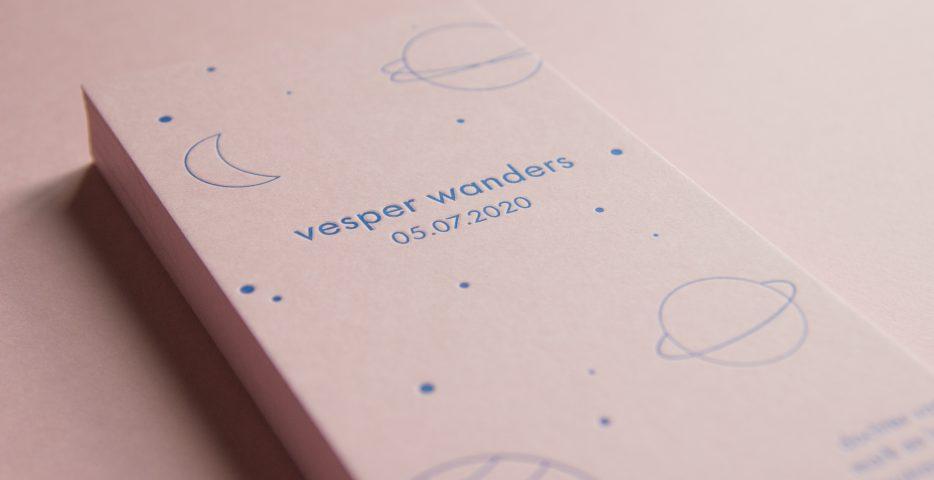 letterpress geboortekaartje colorplan candy pink
