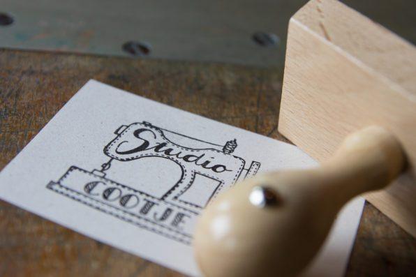 Logo stempel Studio Cootje