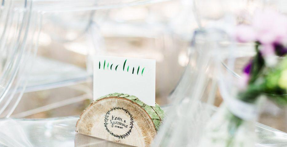 Stempels voor styling bruiloft