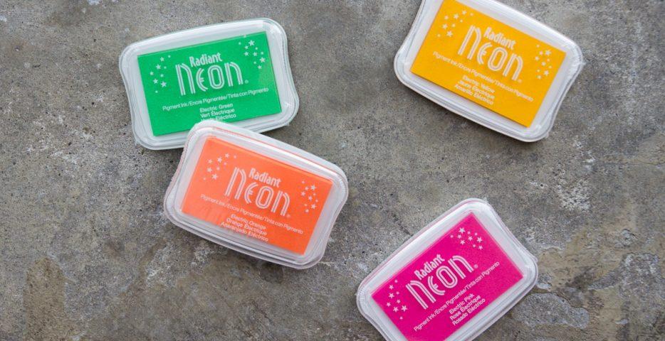 Radiant Neon fluor stempelinkt