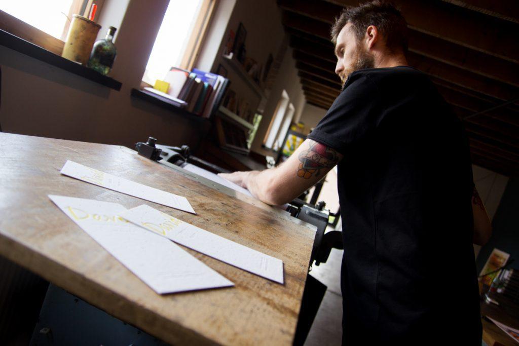 letterpress workshop karakter prints