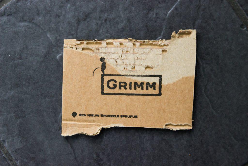 Alternatief geboortekaartje op oud papier