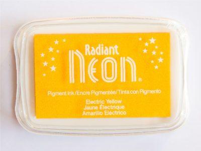 Radiant Neon Yellow fluor geel stempelkussen