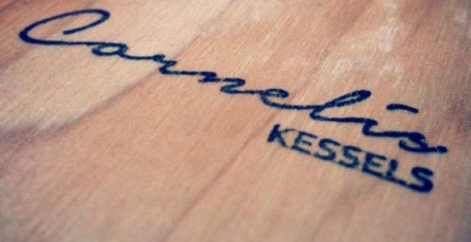 Logstempel voor op hout