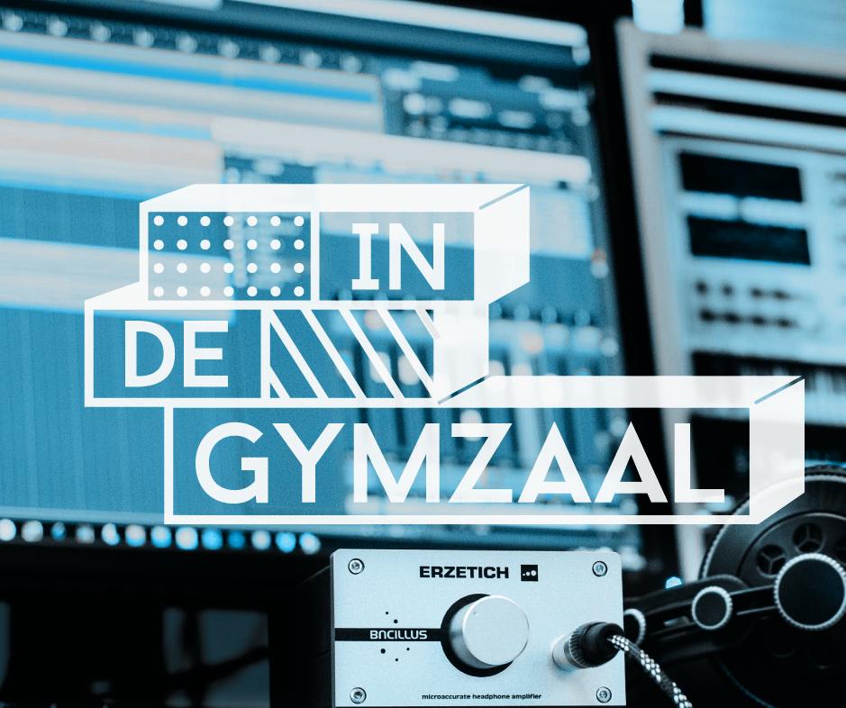 logo ontwerp in de gymzaal