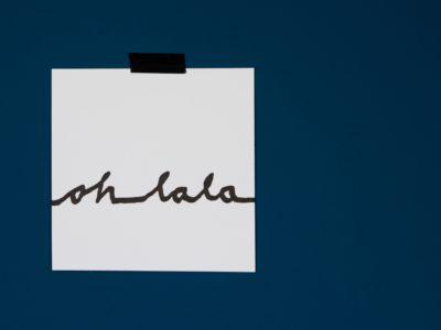 Ohlala letterpress print studio van Mieke Karakter Prints