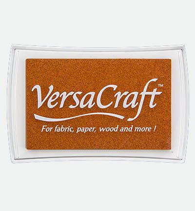 bruin oranje Versacraft stempelkussen Autumn Leaf