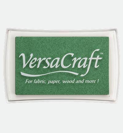 Versacraft Celadon stempelkussen groen