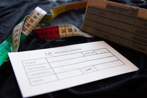stempel kledingmaker tailor
