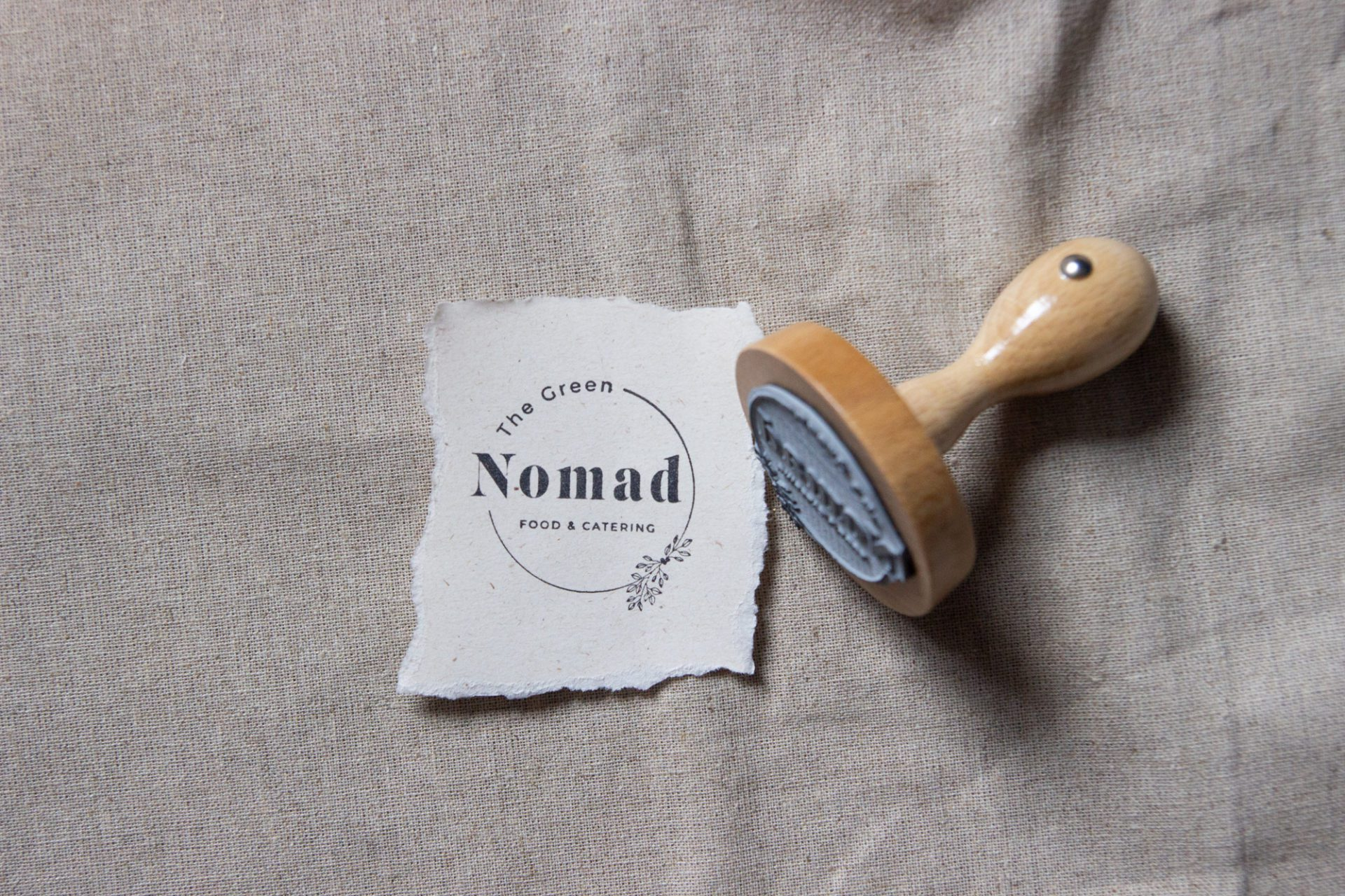 ronde stempel logo bestellen