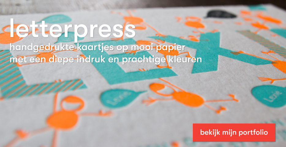 letterpress geboortekaartje laten maken