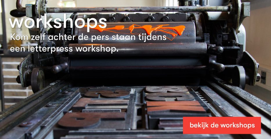 workshop letterpress karakter prints