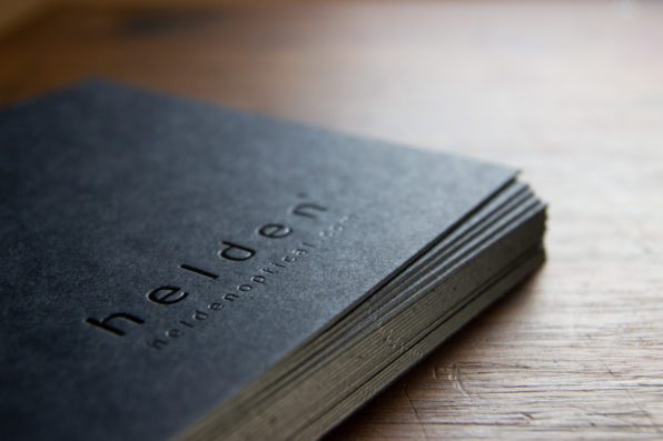 Colorplan Ebony Black zwarte foliedruk