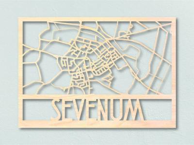 Plattegrond hout Sevenum