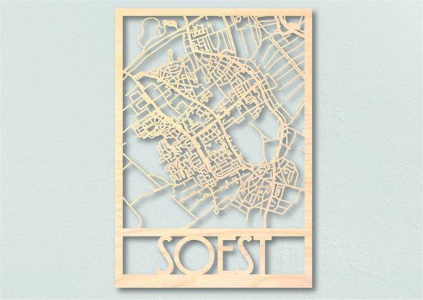 plattegrond hout Soest