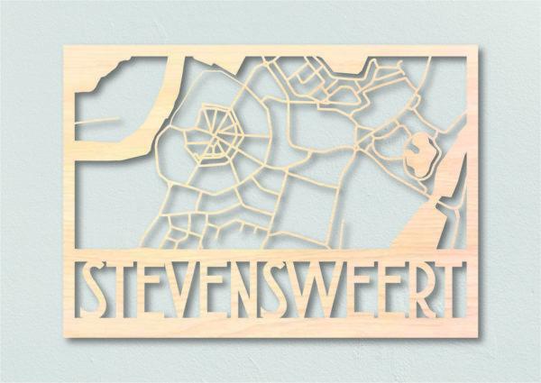 plattegrond hout Stevensweert