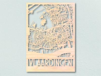 plattegrond hout vlaardingen