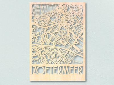 plattegrond hout zoetermeer