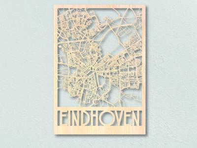 plattegrond hout Eindhoven