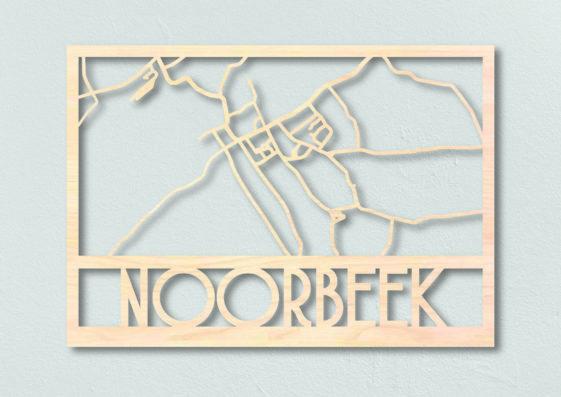 Noorbeek plattegrond hout