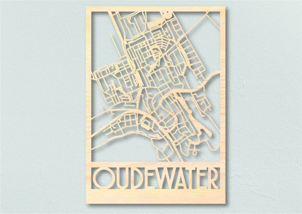 Landkaart hout Oudewater
