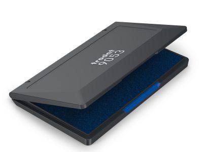 inkt stempel groot kussen blauw Tordat 9053