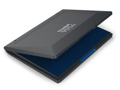 inkt stempel groot kussen blauw Tordat 9054