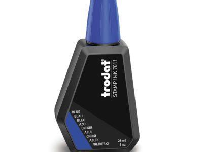 stempelinkt hervulbaar blauw trodat 7011