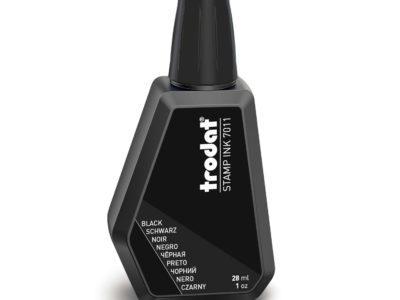 stempelinkt hervulbaar zwart trodat 7011