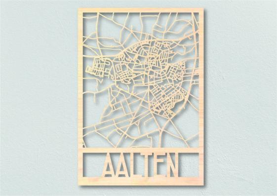 Landkaart hout Aalten