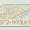 Landkaart hout Almere Buiten